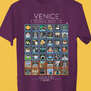 VENICE Camiseta Viajeros