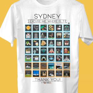 SIDNEY Camiseta Viajeros