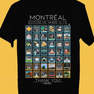MONTREAL Camiseta Viajeros