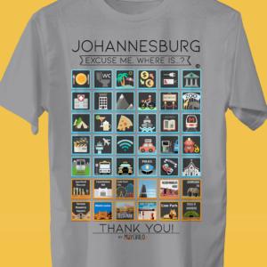 JOHANNESBURG Camiseta Viajeros