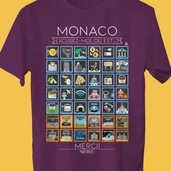 MONACO Camiseta Viajeros