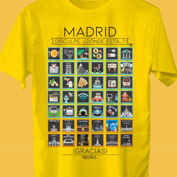MADRID Camiseta Viajeros