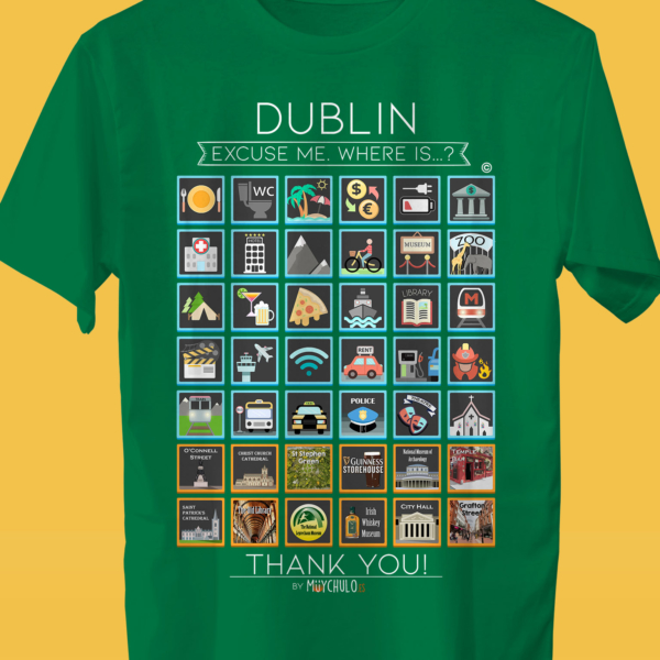 DUBLIN Camiseta Viajeros