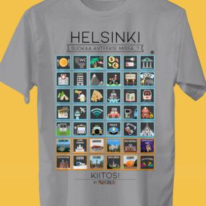 HELSINKI Traveller's T-shirt