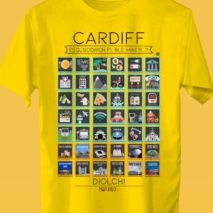 CARDIFF Traveller's T-shirt