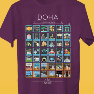 DOHA Traveller's T-shirt