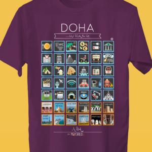 DOHA Traveller's T-shirt