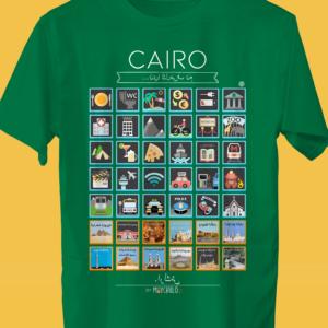 CAIRO Traveller's T-shirt