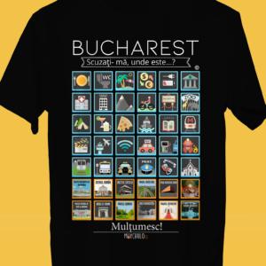 BUCHAREST Traveller's T-shirt