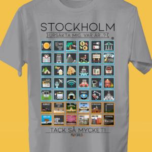 STOCKHOLM Traveller's T-shirt