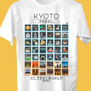KYOTO Traveller's T-shirt