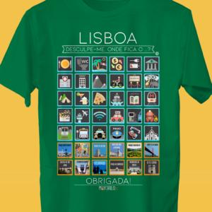 LISBOA Traveller's T-shirt