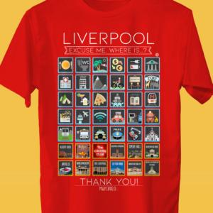 LIVERPOOL Traveller's T-shirt