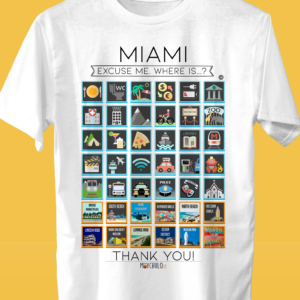 MIAMI Traveller's T-shirt