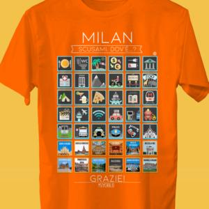 MILAN Traveller's T-shirt