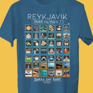 REYKJAVIK Traveller's T-shirt