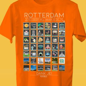 ROTERDAM Traveller's T-shirt