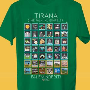 TIRANA Traveller's T-shirt