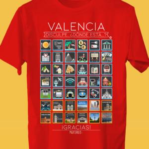VALENCIA Traveller's T-shirt