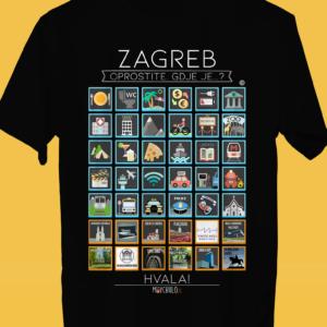 ZAGREB Traveller's T-shirt